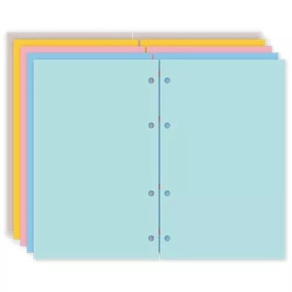 Caderno Organizador Basic Planner Maxi Lilás- Ótima Gráfica + Refil de Agenda Permanente