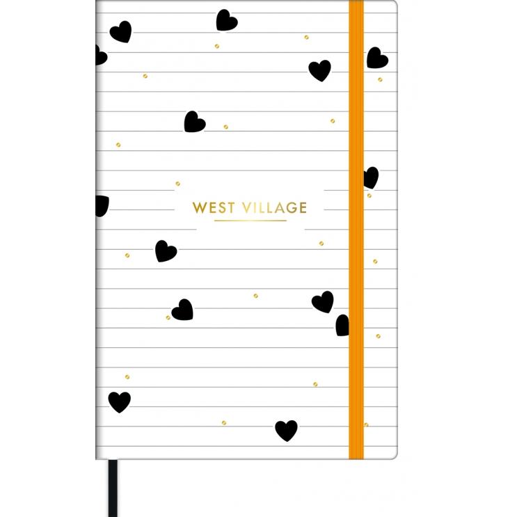 Caderno Pontilhado Bullet Journal West Village 80 Folhas - Tilibra