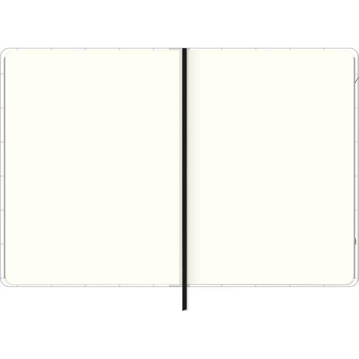 Caderno sem Pauta Costurado Capa Dura Fitto M Mickey 80 folhas Tilibra