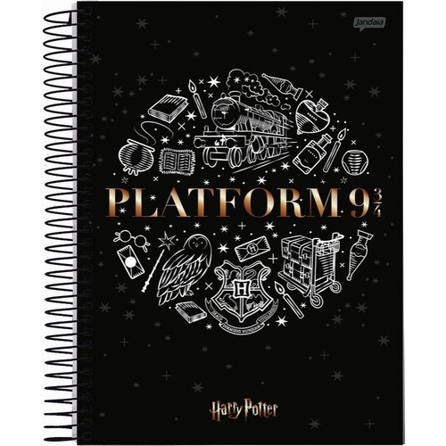 Caderno Universitário 10 Matérias Harry Potter - Tilibra