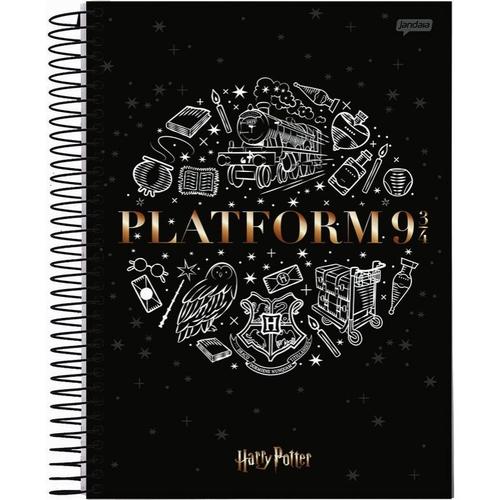 Caderno Universitário 1 Matéria Harry Potter - Jandaia