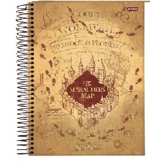 Caderno Universitário 1 Matéria Harry Potter - Tilibra