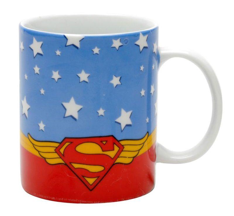 Caneca Supergirl Cartoon