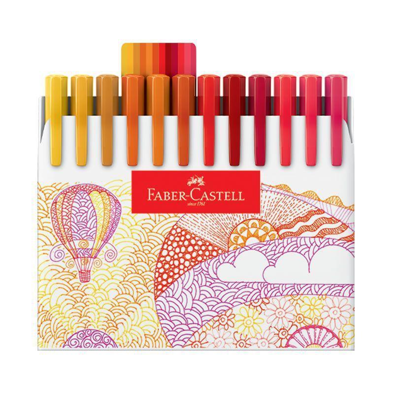 Caneta Hidrográfica Fine Pen Colors 48 Unidades - Faber Castell