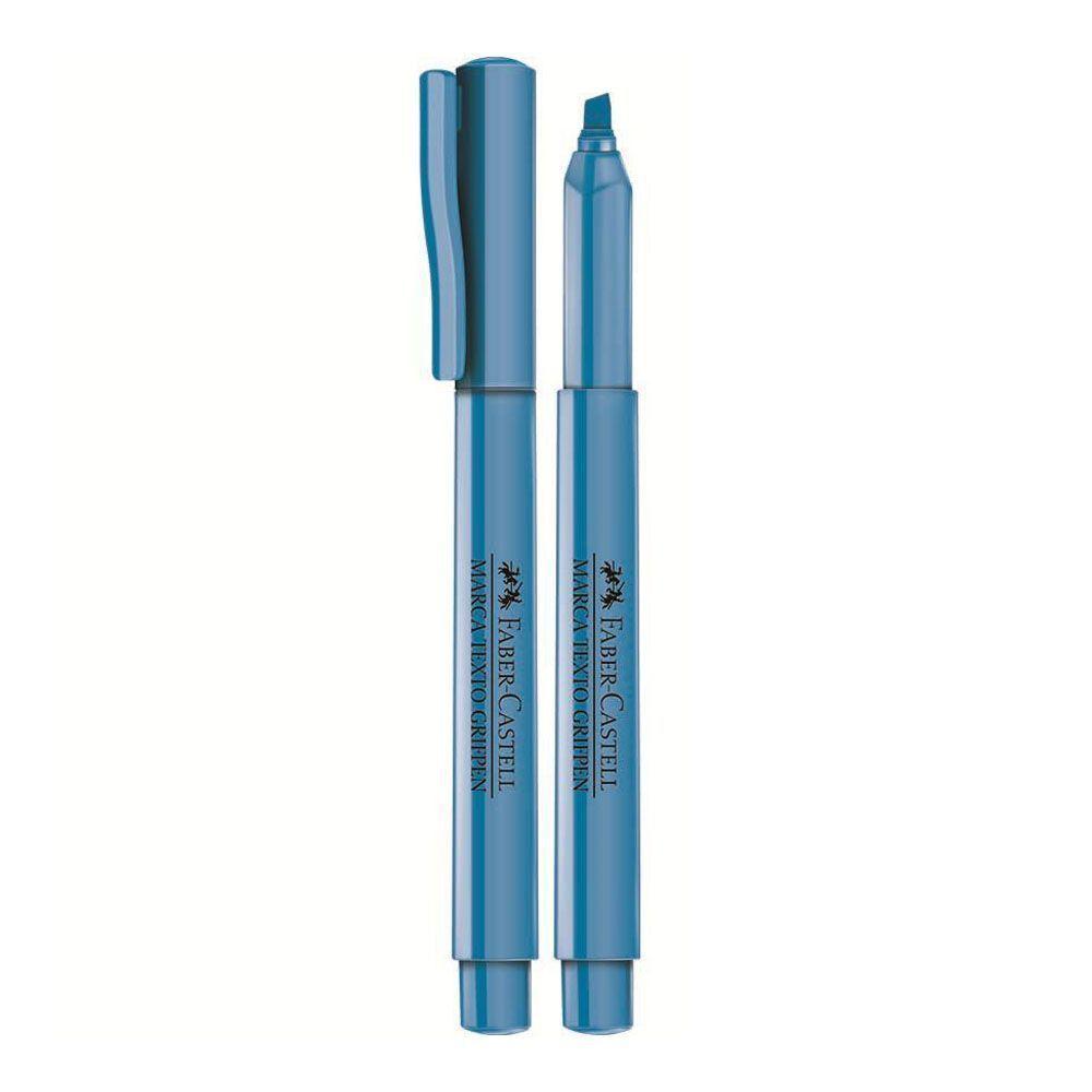 Caneta Marca Texto Grifpen Faber Castell - Azul