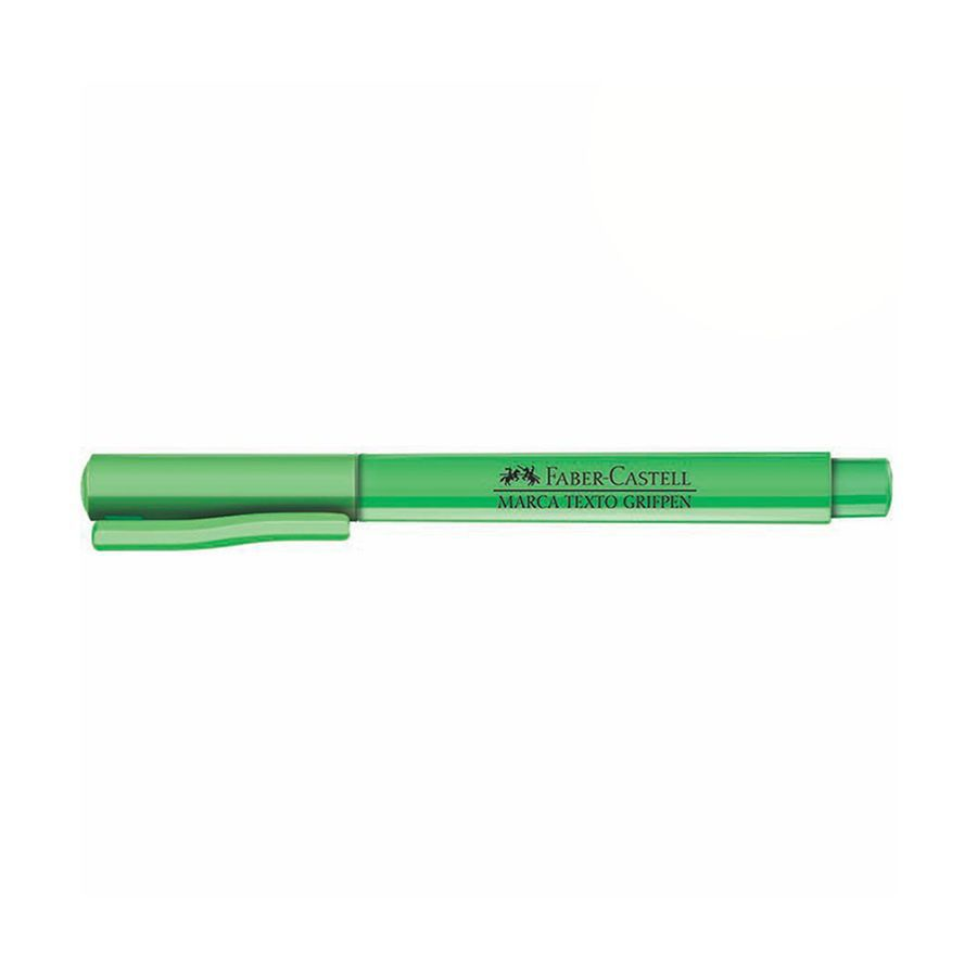 Caneta Marca Texto Grifpen Faber Castell - Verde