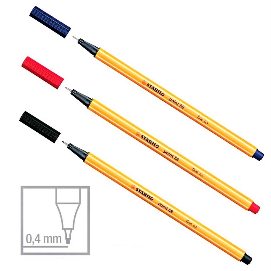 Caneta Point 88 Fine 0.4 mm Stabilo