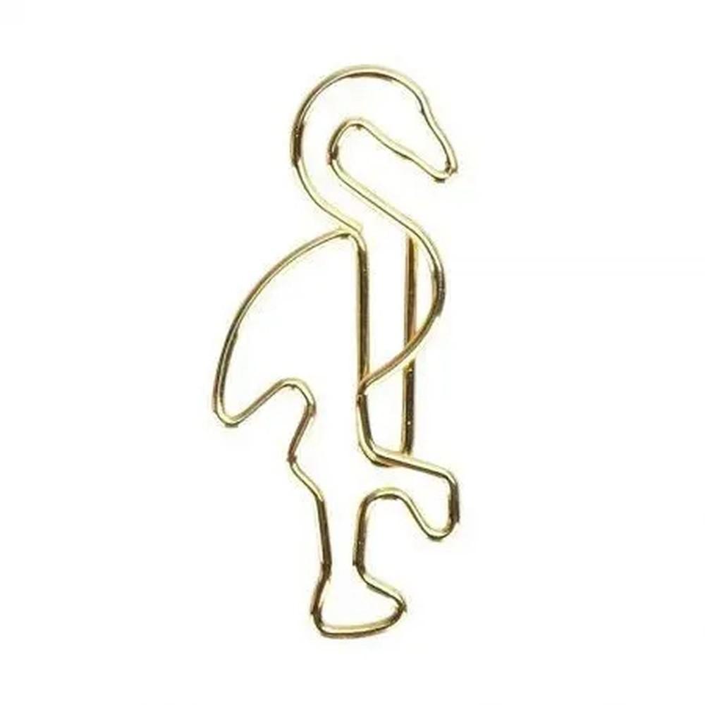 Clips Especial Flamingo Com 12 Unidades Molin