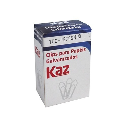 Clips n°4 Galvanizados 100Unid. Kaz