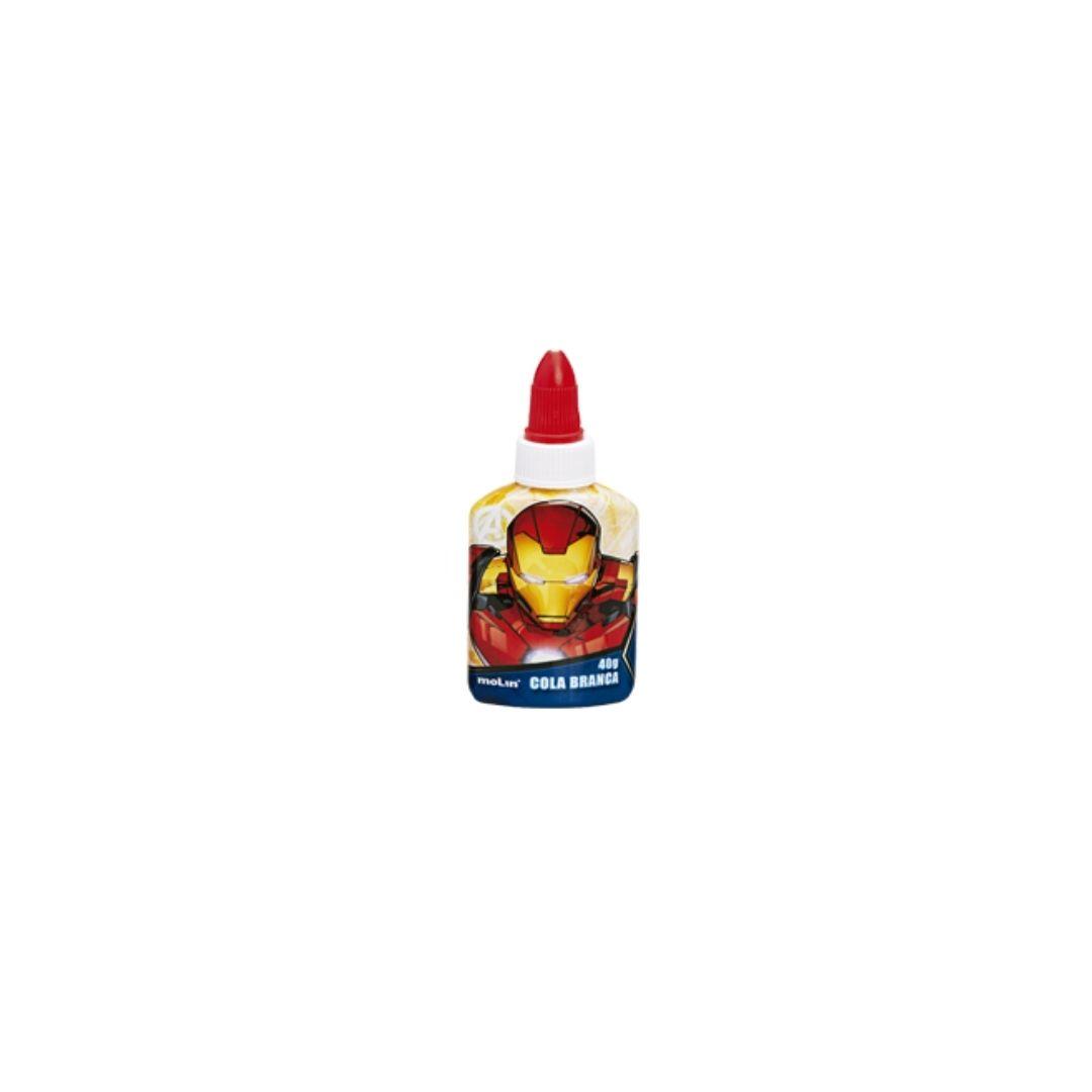 Cola Branca Avengers 40g Unidade - Molin