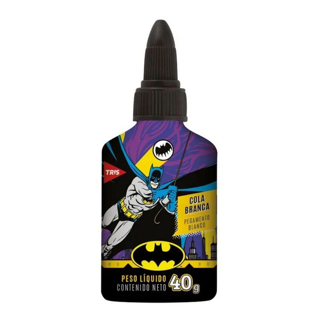 Cola Branca Batman 40g Unidade - Tris