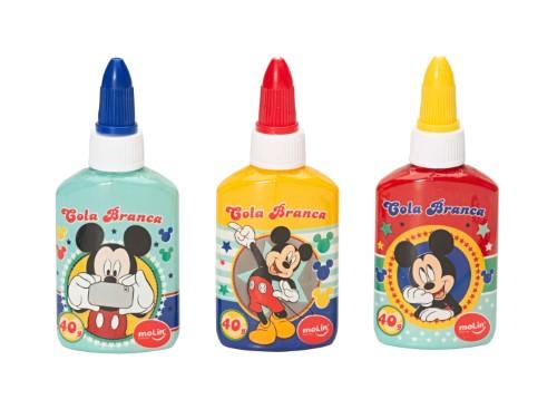 Cola Branca Mickey Mouse 40g Unidade - Molin