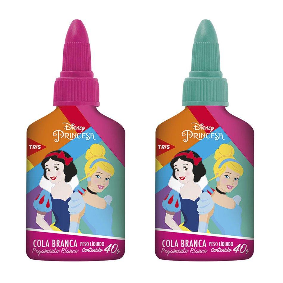 Cola Branca Princesas 40g Unidade - Tris