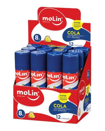 Cola em Bastão 8g Unidade - Molin