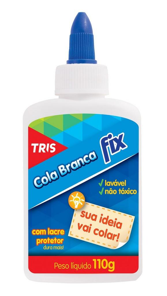 Cola Liquída Branca Fix 110g - Tris