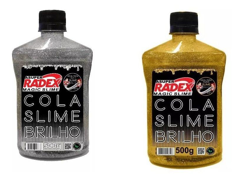 Cola Para Slime  Glitter 500g Radex 7523