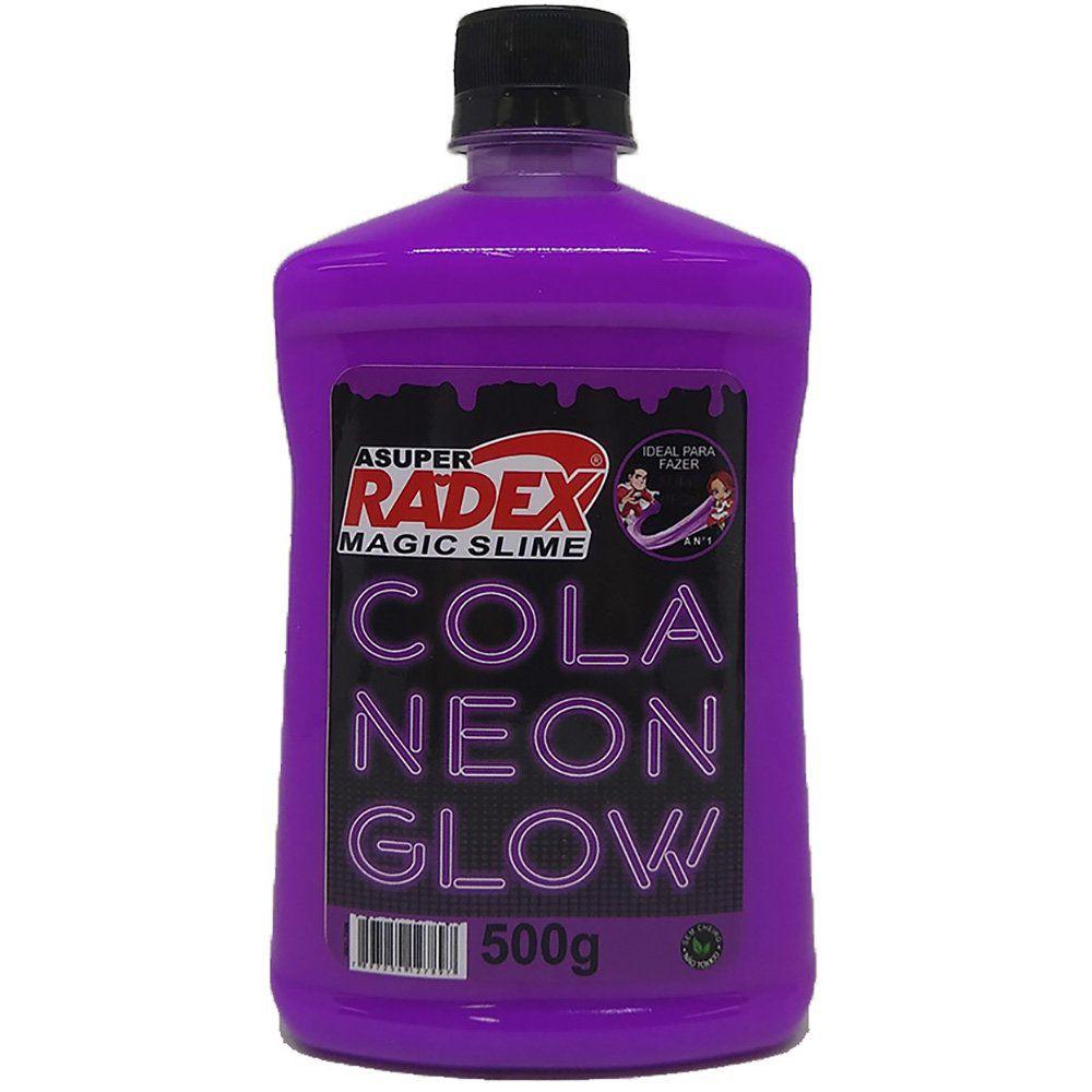 Cola para Slime 500g Neon Glow Radex