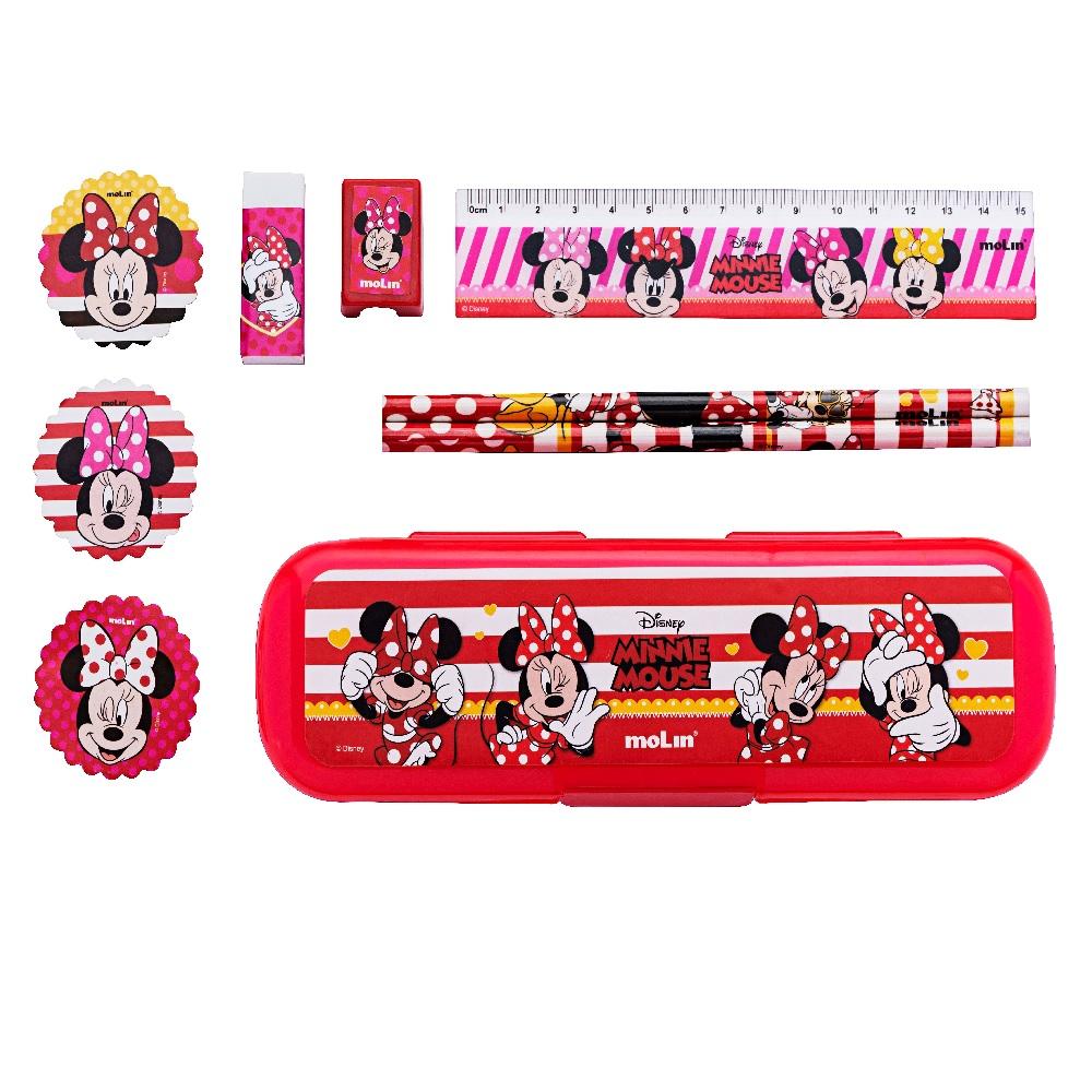 Conjunto Escolar Fashion Minnie Mouse - Molin