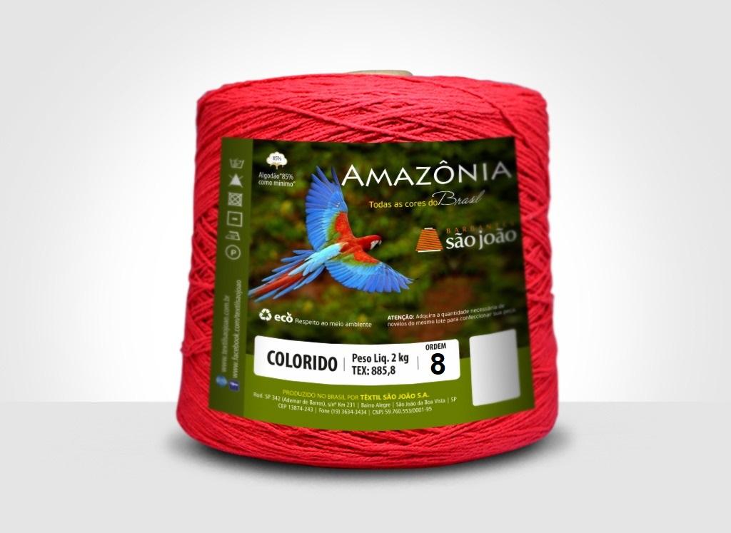 Barbante Amazônia N°8 - 2kg São João