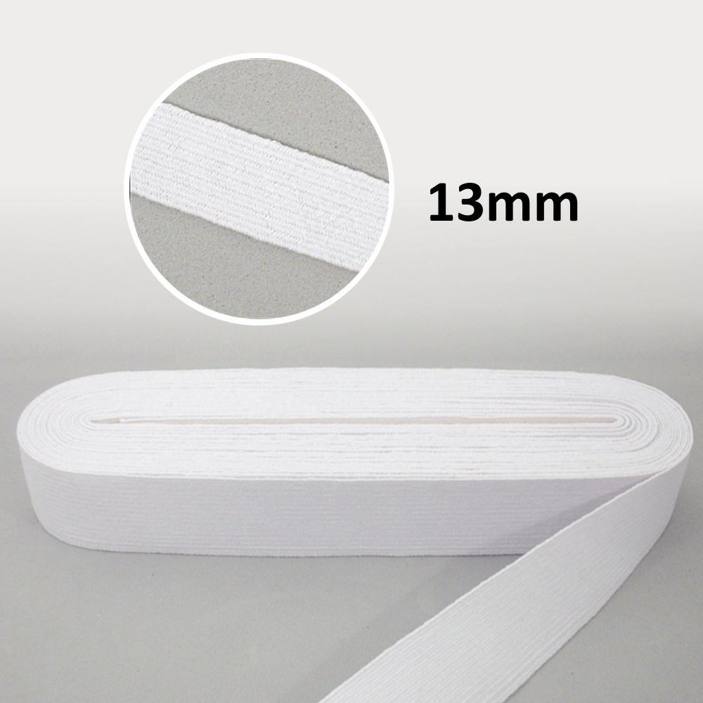 Elástico Chato N°20 Branco 13mm - São José