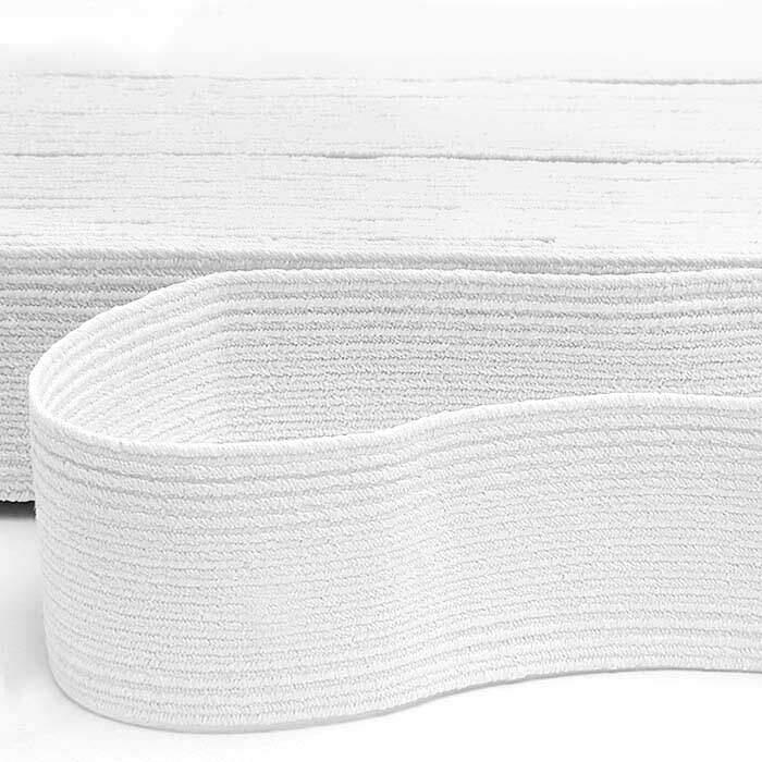 Elástico PIGEON Nº38 Branco 28mm com 10 metros - São José