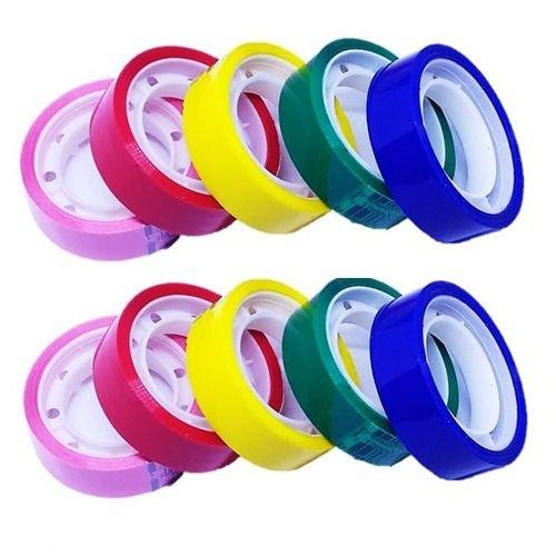 Fita Adesiva Escolar Colorida 12mm x 10m Unitário - Adelbras