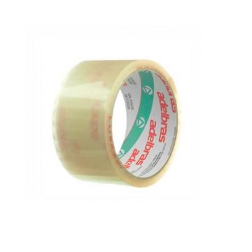 Fita Adesiva Qualitape 48mmx45m Transparente - 4 Rolos Adelbras