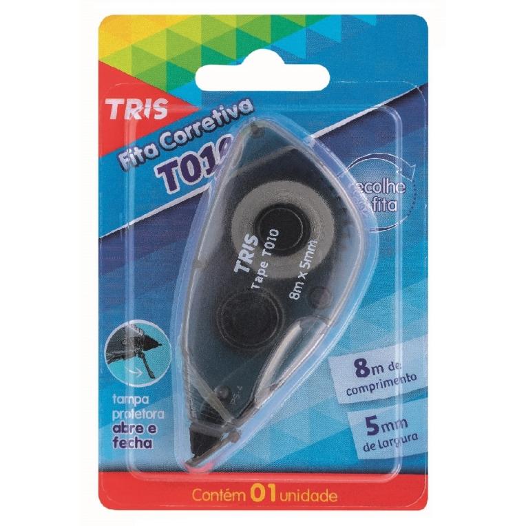 Fita Corretiva T010 Cartela com 1 Unidade - Tris