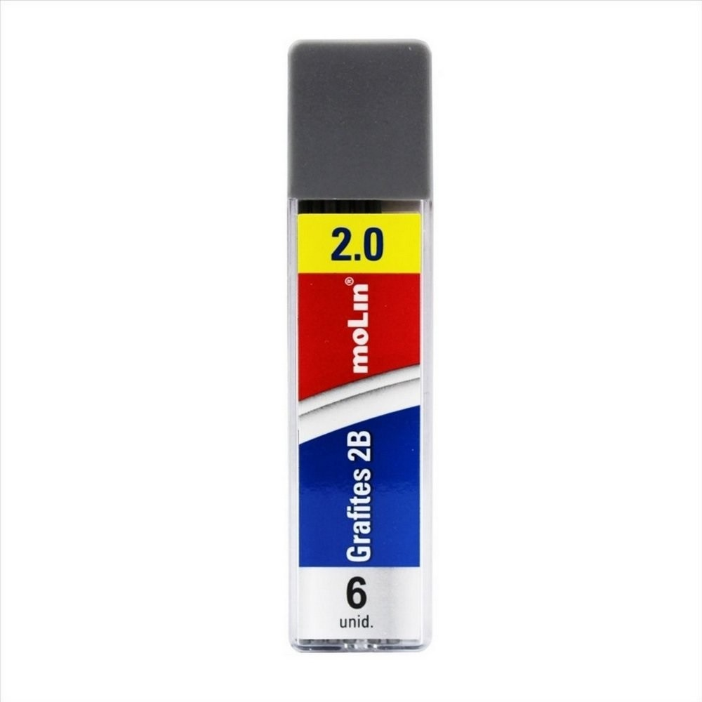 Grafites 2.0 mm 2B Molin