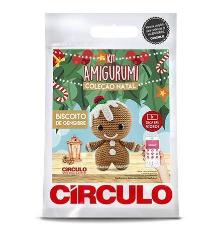 Kit Amigurumi Coleção de Natal - Círculo