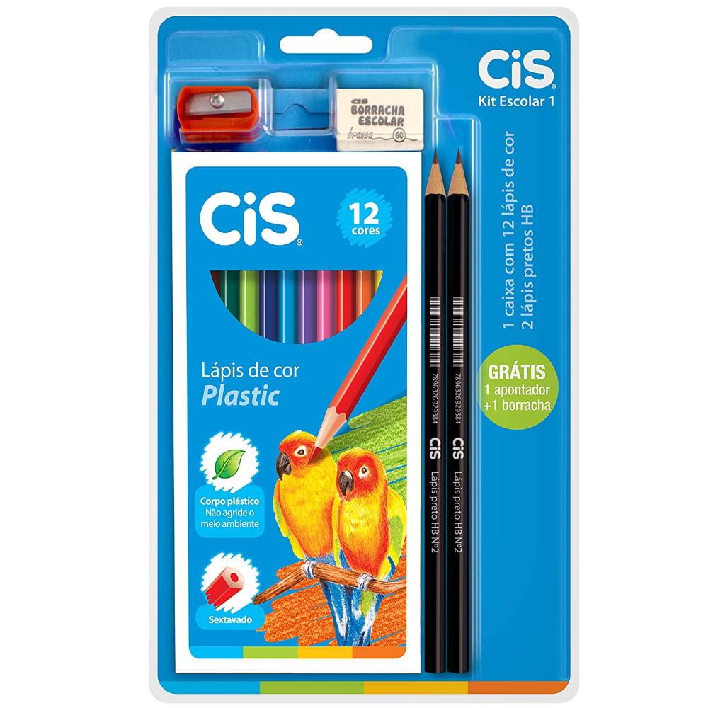Kit Escolar com 16 Itens - Cis
