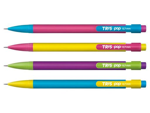 Lapiseira Recarregável Pop 0,7mm Tris