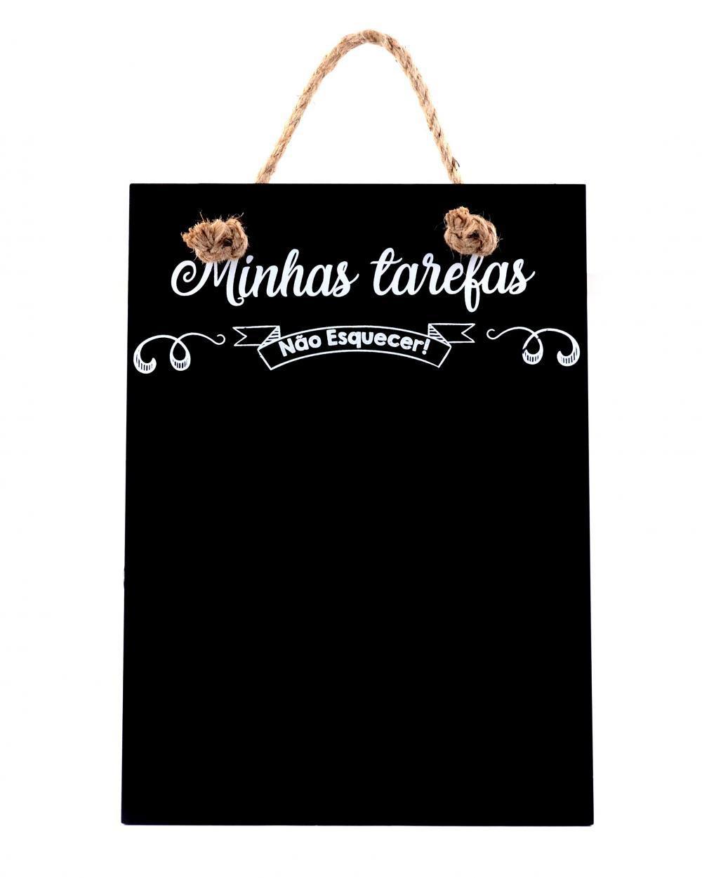 Lousa/ Quadro Negro Minhas Tarefas