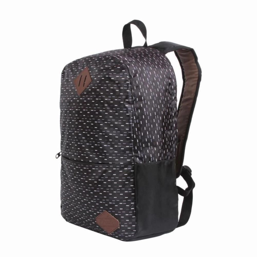 Mochila De Costas Anti Furto Container Black Dermiwil