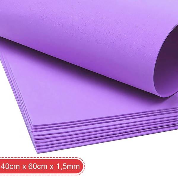 Pacote de Folha de EVA 40 X 60cm com 10 unidades (cor única) Make +