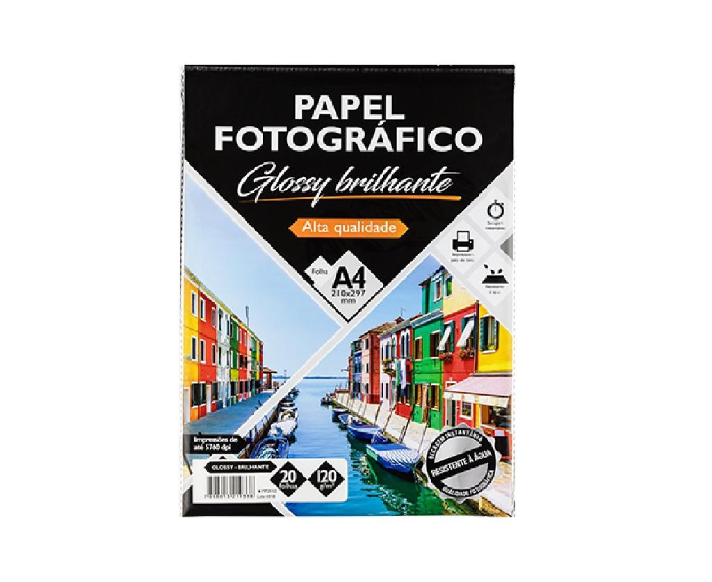 Papéis fotográficos glossy brilhante