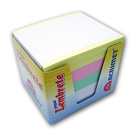 Papel Lembrete Colorido - Refil Com 750 Fls.