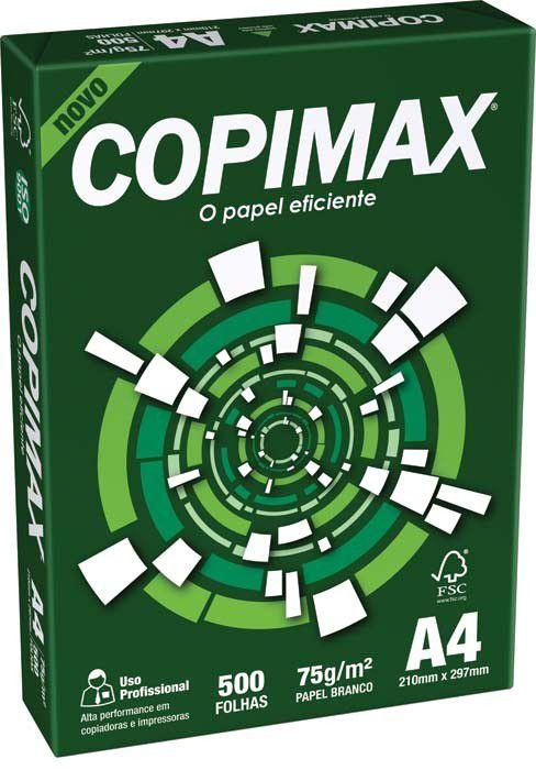 Papel Sulfite com 500 folhas - Copimax