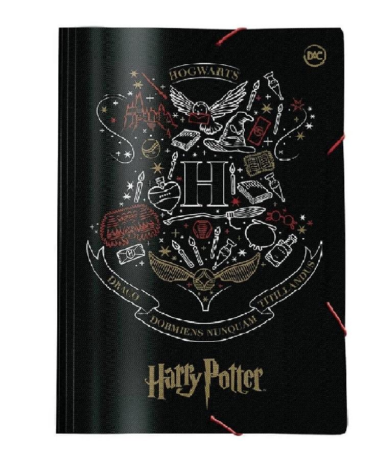 Pasta Ofício com elástico Harry Potter - Dac
