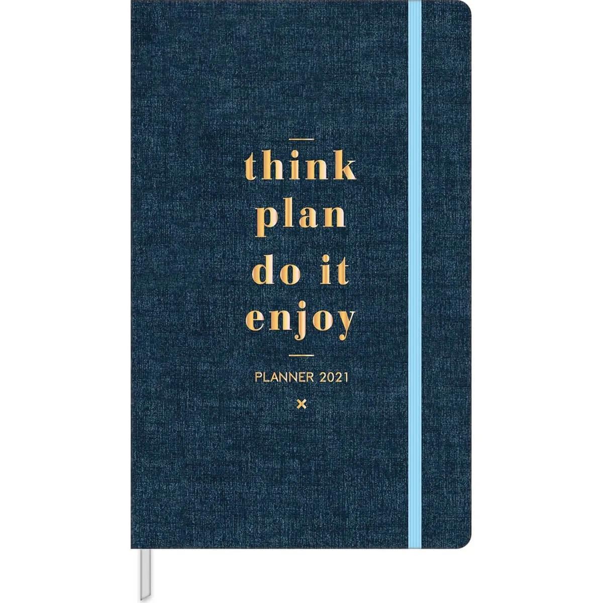 Planner Costurado Agenda 2021 Cambridge M5 Tilibra