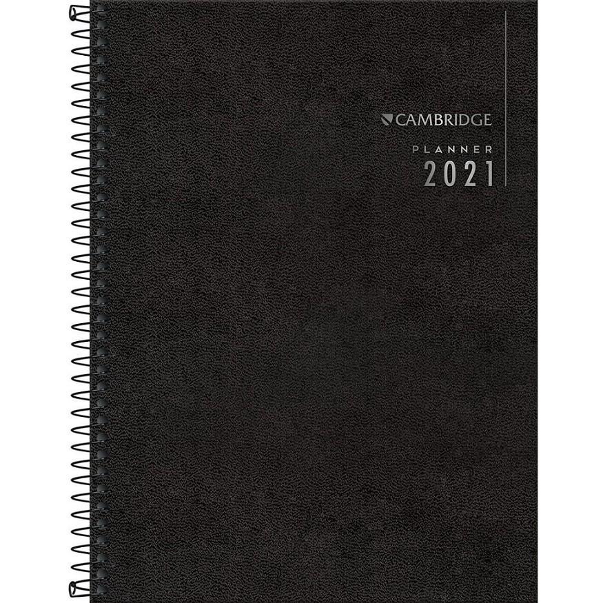 Planner Executivo Espiral Agenda 2021 Cambridge M9 Tilibra