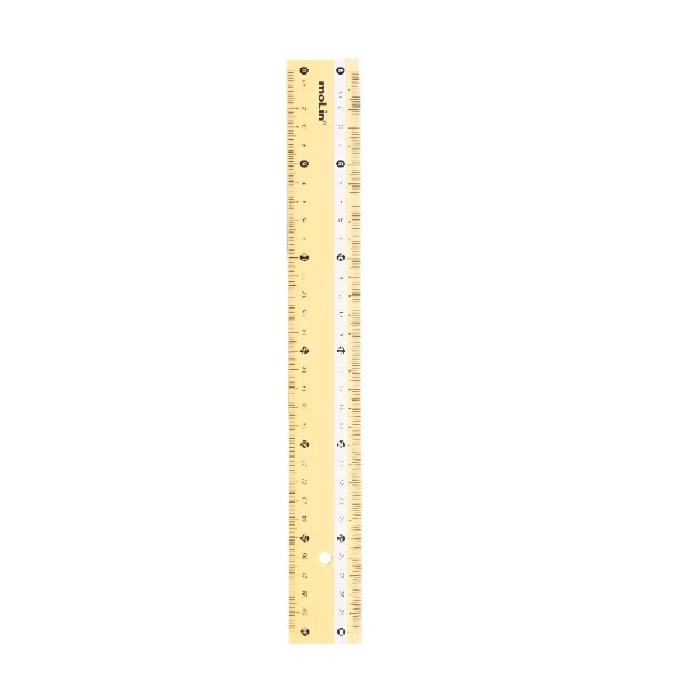 Régua 30cm Cores Pastel - Molin