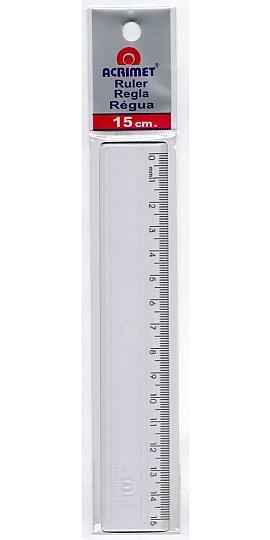 Régua de Acrílico 15cm - Acrimet