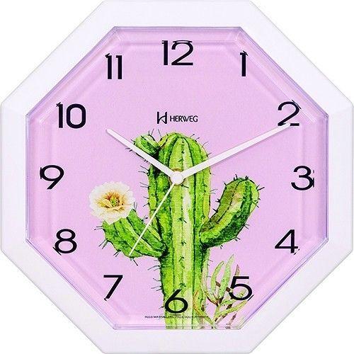 Relógio de Parede Cacto 660089 - Herweg