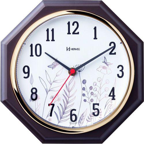 Relógio de Parede Floral 660029 - Herweg