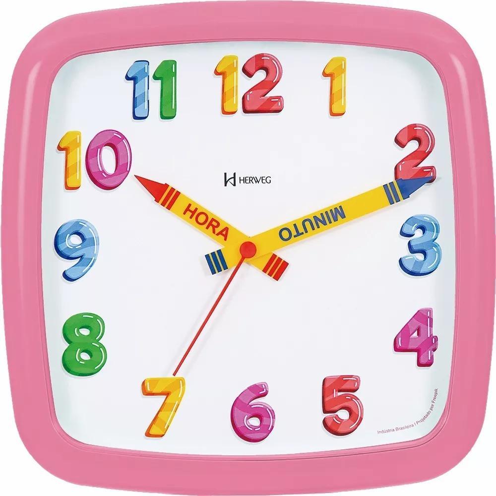 Relógio de Parede Infantil 660080 Herweg