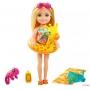 Boneca Barbie Chelsea Praia Girafa - Mattel