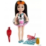 Boneca Barbie Chelsea Praia Zebra - Mattel