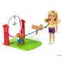 Boneca Barbie Chelsea Profissões Treinador de Cães - Mattel