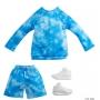 Ken Roupas e Acessórios Conjunto Esportivo Tie-Dye e Shorts - Mattel